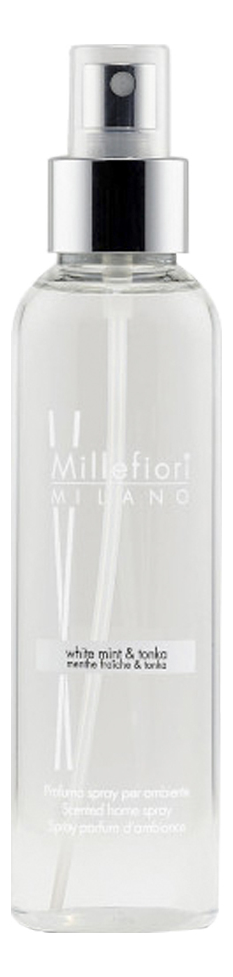 Духи-спрей для дома Белая мята и тонка Natural White Mint & Tonka 150мл рефилл белая мята и тонка 250 мл millefiori milano
