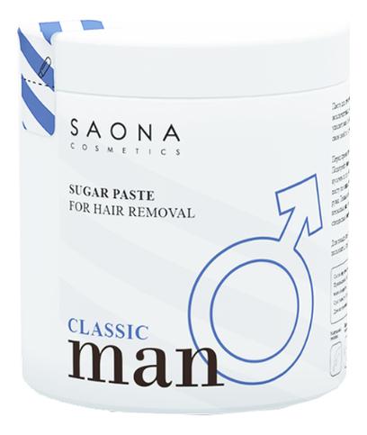 Cахарная паста для шугаринга Man Line Classic Sugar Paste For Hair Removal 1000г