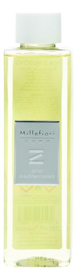 Наполнитель для диффузора Средиземноморский воздух Zona Aria Mediterranea 250мл mediterranea косметика