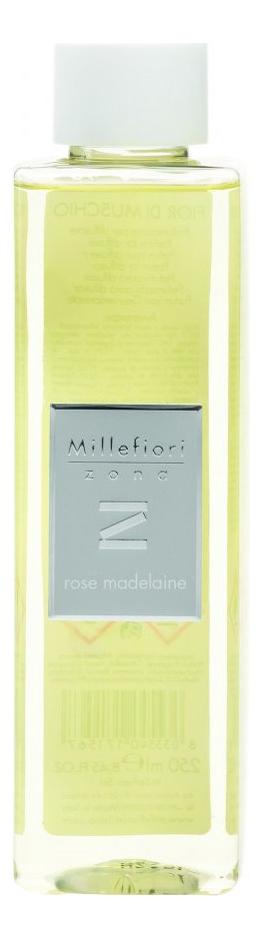 Наполнитель для диффузора Розовые лепестки Zona Rose Madelaine 250мл, Millefiori Milano  - Купить