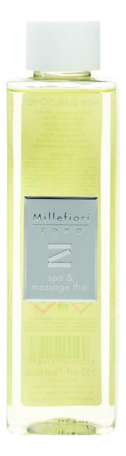 тайский арома ойл массаж Наполнитель для диффузора Спа и тайский массаж Zona Spa & Massage Thai 250мл