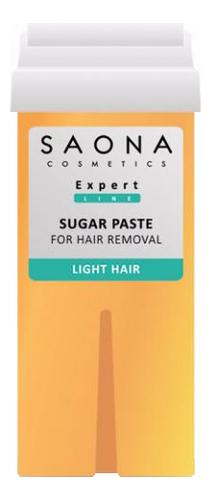 Сахарная паста в картридже мягкая Expert Line Sugar Paste For Hair Removal Light : Паста 150г