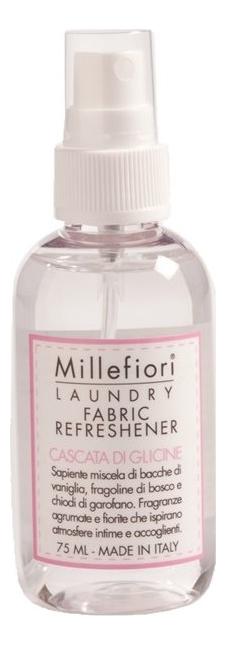 Аромат для тканей Шепот водопада Laundry Fabric Refreshener Cascata Di Glicine: Спрей 75мл