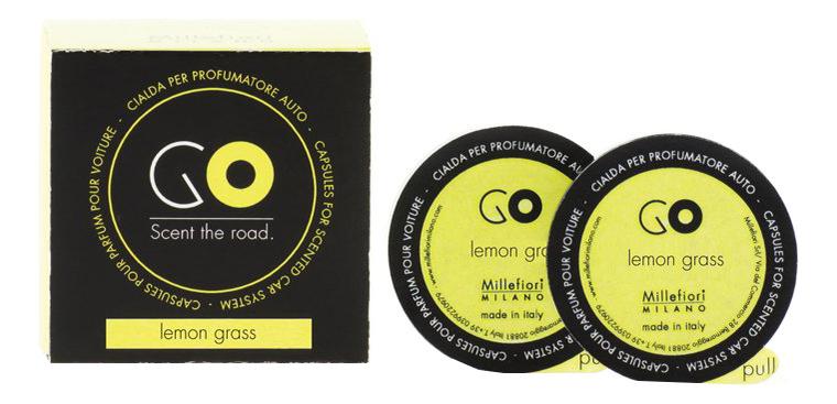 цена на Ароматический картридж для автомобиля Лемонграсс Refill Go Lemon Grass (2 кап)