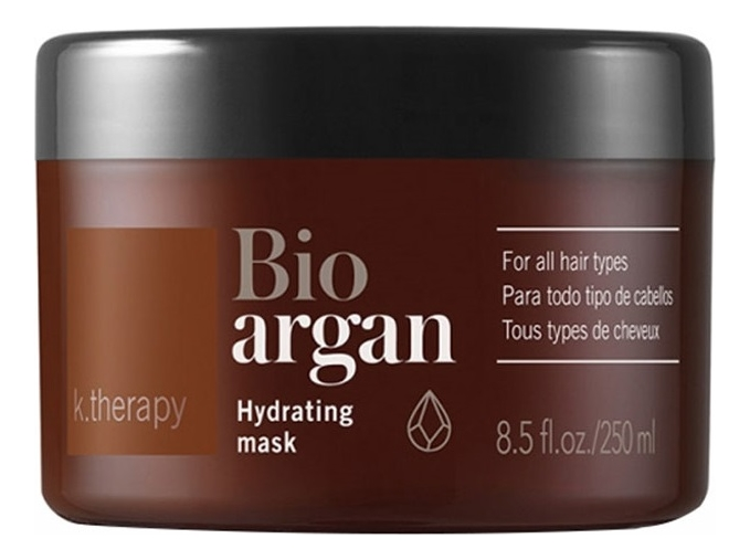 Маска для волос с аргановым маслом K.Therapy Bio Argan Hydrating Mask: Маска 250мл фото