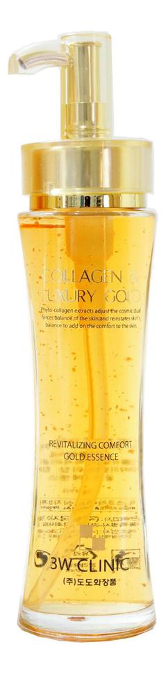 Купить Эссенция для лица с жидким коллагеном и золотом Collagen & Luxury Gold Revitalizing 150мл, Эссенция для лица с жидким коллагеном и золотом Collagen & Luxury Gold Revitalizing 150мл, 3W CLINIC