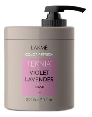 Маска для поддержания оттенка окрашенных волос Teknia Ultra Violet Lavender Mask: Маска 1000мл