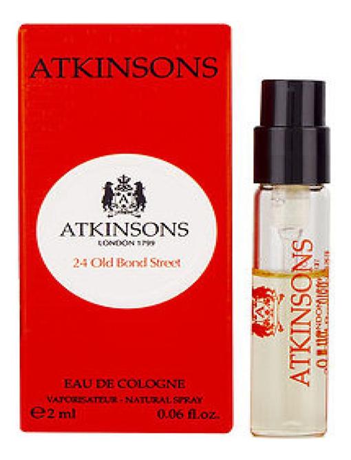 Купить 24 Old Bond Street: одеколон 2мл, Atkinsons