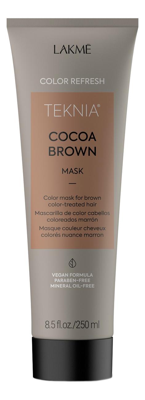 Маска для поддержания оттенка окрашенных волос Teknia Ultra Brown Treatment: Маска 250мл