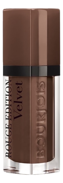 Бархатный флюид для губ Rouge Edition Velvet 7, 7мл: 23 Chocolat Corset, Bourjois  - Купить
