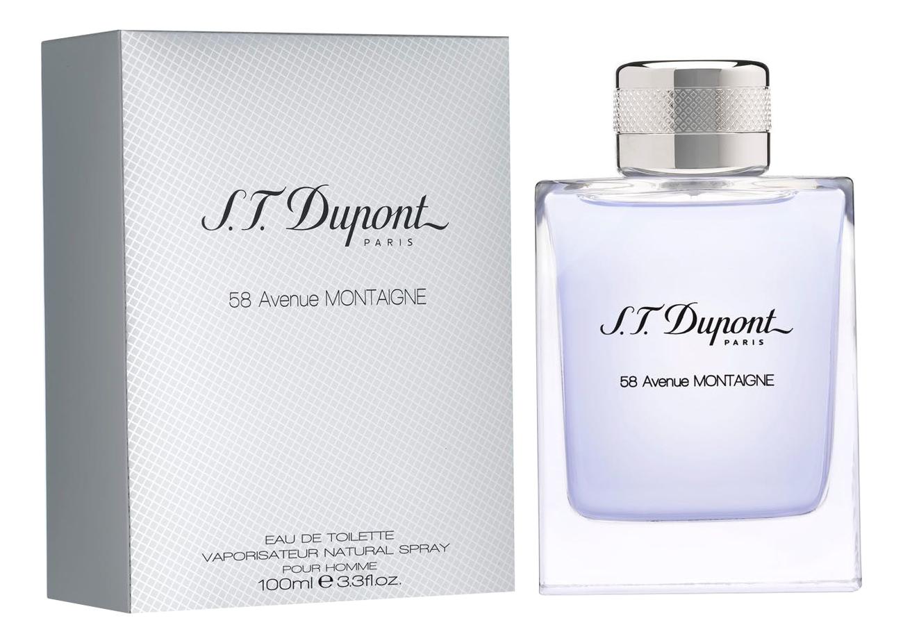Купить 58 Avenue Montaigne Pour Homme: туалетная вода 100мл, S.T. Dupont