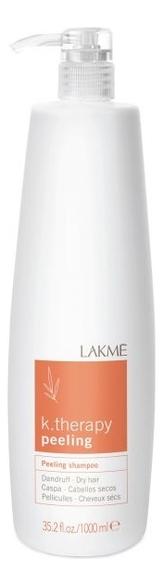 Шампунь против перхоти для сухих волос K.therapy Peeling Shampoo Dandruff Dry Hair: Шампунь 1000мл шампунь от перхоти 100 мл dry dry dry dry
