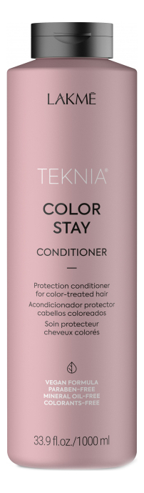 Кондиционер для окрашенных волос Teknia Color Stay Conditioner: Кондиционер 1000мл бальзам для окрашенных волос silk touch conditioner for color stabilizer 1000мл