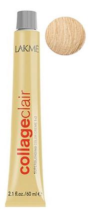 Купить Суперосветляющая крем-краска для волос CollageClair Superblonding Color Creme 1 + 2 60мл: 11-30 Золотистый блондин, Lakme