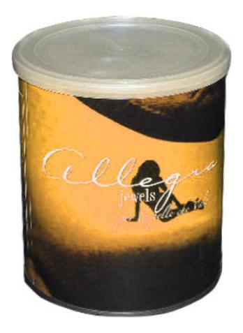 Воск для эпиляции Лимонный Per La Pelle Che Vale: 800г