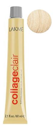 Купить Суперосветляющая крем-краска для волос CollageClair Superblonding Color Creme 1 + 2 60мл: 12-30 Золотистый блондин, Lakme