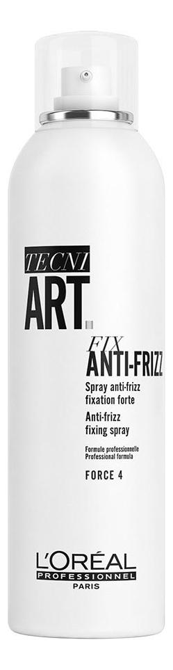 Спрей для волос с защитой от влаги Tecni. Art Compressed Fix Anti-Frizz: Спрей 250мл спрей сильной фиксации с защитой от влаги и уф лучей l oreal professionnel tecni art fix anti frizz 400 мл