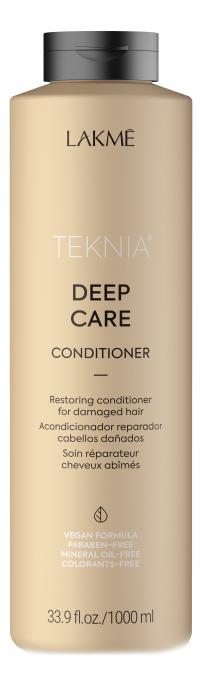 Фото - Восстанавливающий кондиционер для сухих или поврежденных волос Teknia Deep Care Conditioner: Кондиционер 1000мл восстанавливающий кондиционер для волос sp repair conditioner кондиционер 1000мл