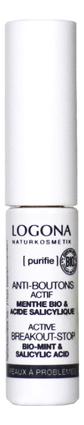 Купить Средство для проблемной кожи с Био-мятой Active Breakout-Stop 6мл, Logona