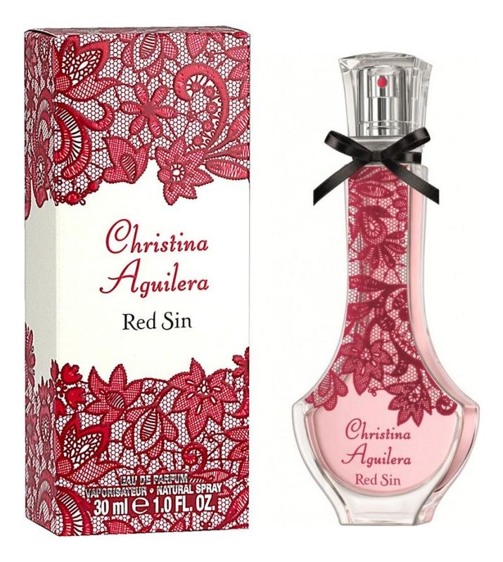 Red Sin: парфюмерная вода 30мл christina aguilera парфюмерная вода 30мл