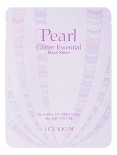Маска для лица с экстрактом жемчуга Pearl Glitter Essential Mask Sheet 22г