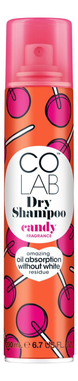 Сухой шампунь для волос прозрачный Candy 200мл (конфетный аромат)