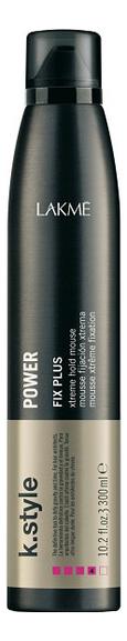 Купить Мусс для укладки волос K.Style Power Fix Plus 300мл, Lakme