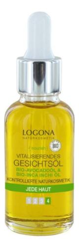 Купить Витализирующее масло для лица с Био-авокадо Vitalisierendes Gesichtsol 30мл, Logona