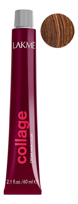 Перманентная крем-краска для волос Collage Creme Hair Color 60мл: 7-43 Средний блондин медно-золотистый недорого