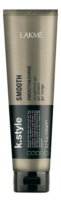 Купить Гель выпрямляющий для укладки волос K.Style Smooth & Shine 150мл, Гель выпрямляющий для укладки волос K.Style Smooth & Shine 150мл, Lakme
