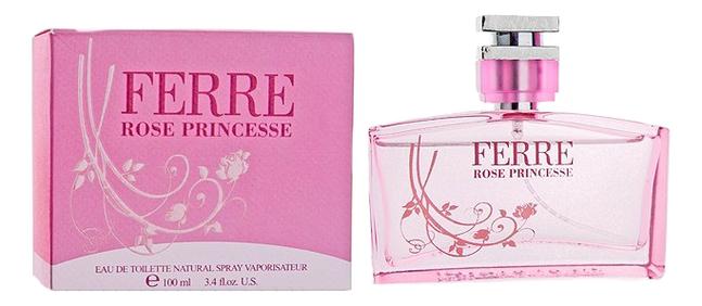 Ferre Rose Princesse: туалетная вода 100мл summer rose туалетная вода 100мл