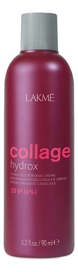 Купить Стабилизированный крем-окислитель для волос 20V 6% Collage Hydrox Stabilized Peroxide Creme: Крем-окислитель 90мл, Lakme
