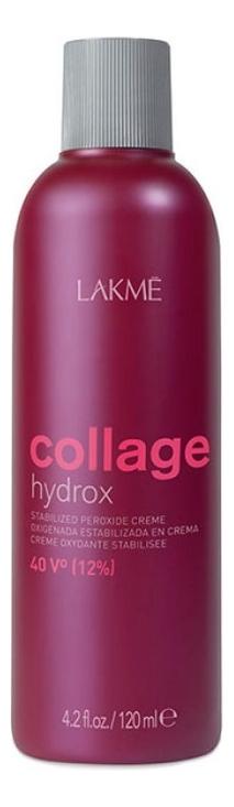 Купить Стабилизированный крем-окислитель для волос 40V 12% Collage Hydrox Stabilized Peroxide Creme: Крем-окислитель 120мл, Lakme
