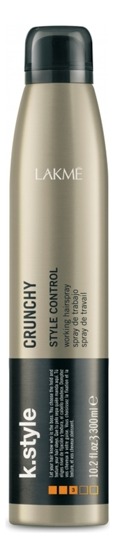 Купить Спрей для укладки волос K.Style Crunchy 300мл, Lakme
