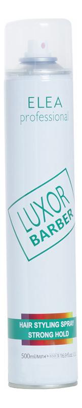 Лак для волос сильной фиксации Luxor Barber Hair Styling Spray Strong Hold 500мл