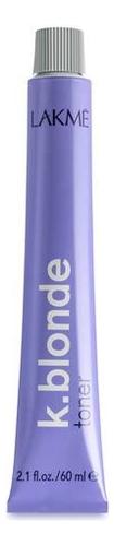Купить Тонер для волос K.Blonde 60мл (серебристый), Lakme
