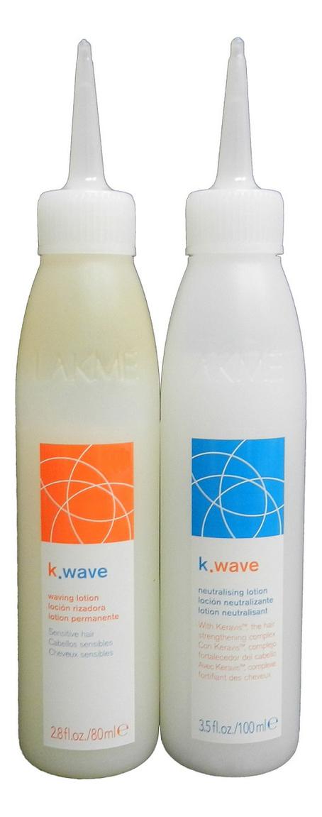 Система для завивки нормальных волос K.Wave No1 Waving System (лосьон 80мл + нейтрализующий лосьон 100мл) ducray неоптид лосьон от выпадения волос для мужчин 100 мл
