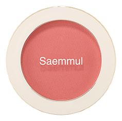 Однотонные румяна Saemmul Single Blusher 5г: CR02 Baby Coral однотонные румяна saemmul single blusher 5г rd02 dry rose