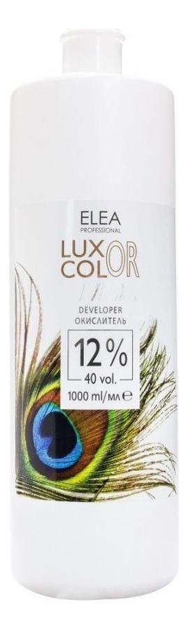 Окислитель для краски Luxor Color Developer 12%: Окислитель 1000мл недорого