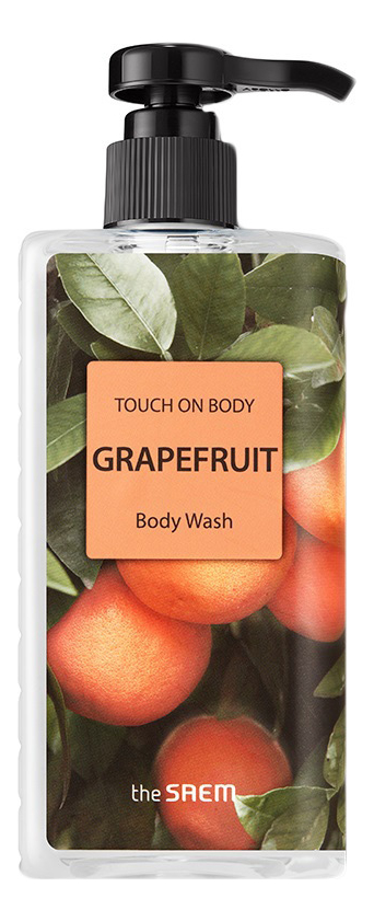 Гель для душа Touch On Body Grapefruit Body Wash 300мл (грейпфрут)