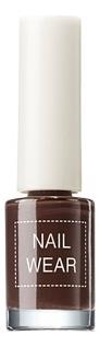 Лак для ногтей Nail Wear 7мл: 19 Chocolate Brown