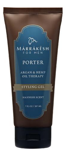 Стайлинг-гель для укладки волос Porter Styling Gelfor For Men 207мл