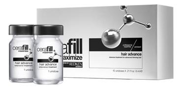 Интенсивный комплекс в ампулах против выпадения волос Cerafill Maximize Hair Advance 10*6мл