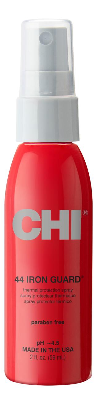 Купить Термозащитный спрей сильной фиксации 44 Iron Guard Thermal Protection Spray: Спрей 59мл, CHI