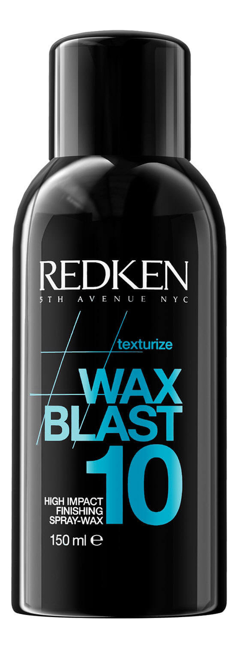 Текстурирующий спрей-воск для укладки волос Wax Blast 10 High Impact Finishing Spray-wax 150мл
