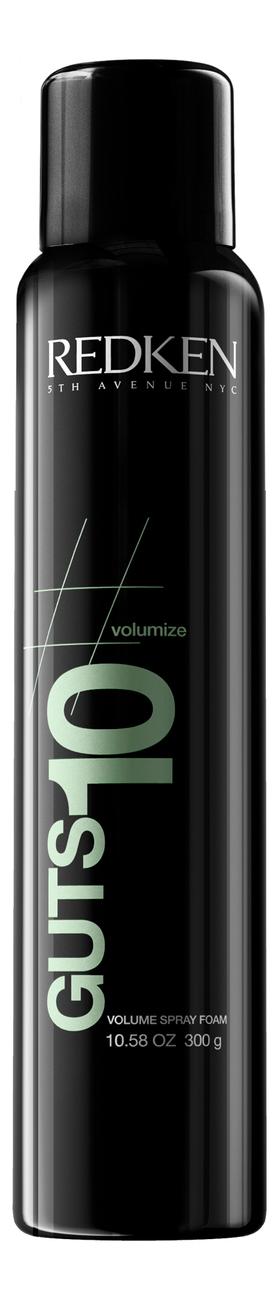 Спрей-мусс для объема волос Guts 10 Volume Spray Foam 300мл