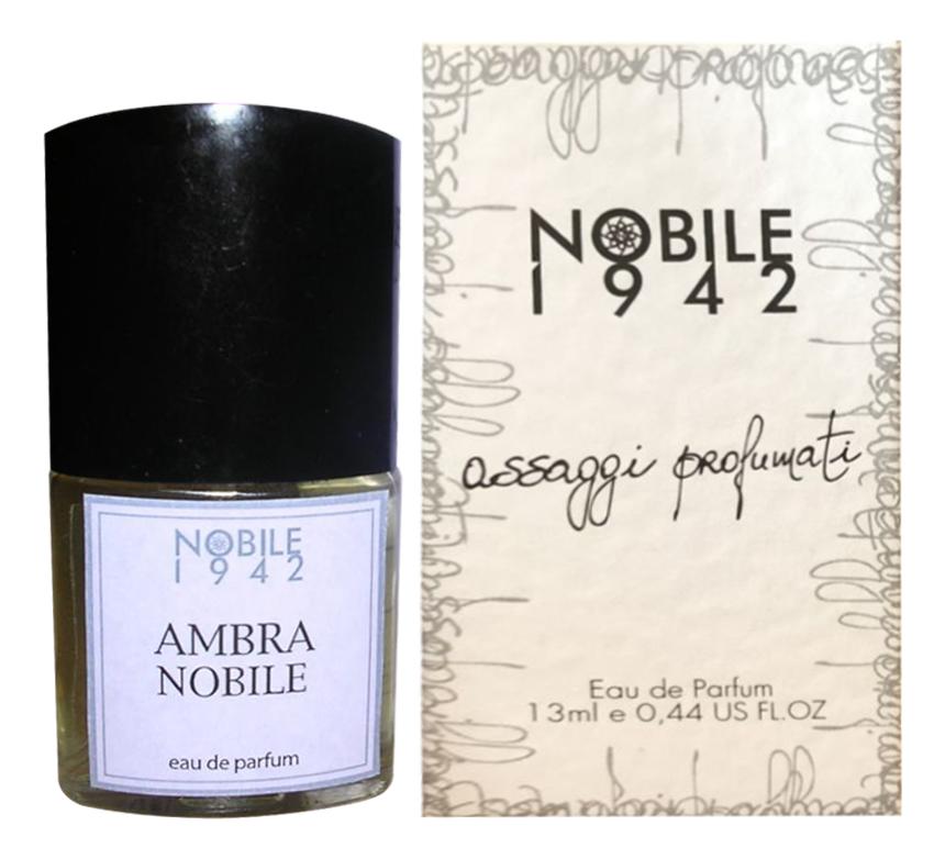 Купить Ambra Nobile: парфюмерная вода 13мл, Nobile 1942