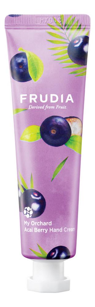 Купить Крем для рук c экстрактом ягод асаи Squeeze Therapy My Orchard Acai Berry Hand Cream 30г: Крем 30мл, Frudia