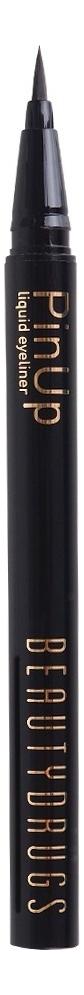 Купить Жидкая подводка для глаз PinUp Liquid Eyeliner Black, Beautydrugs
