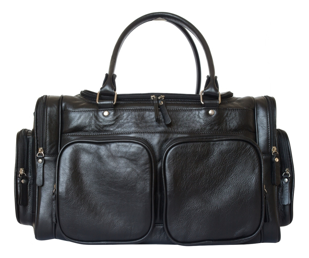 Дорожная сумка Bufaloro Black 4012-01 фото